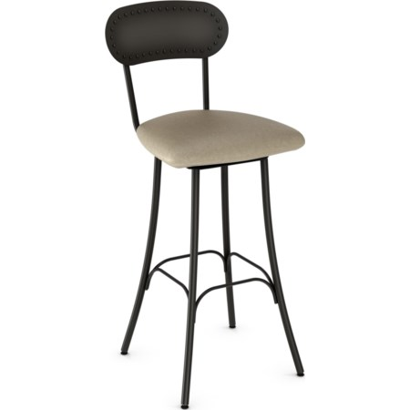 "26"" Bean Swivel Stool"