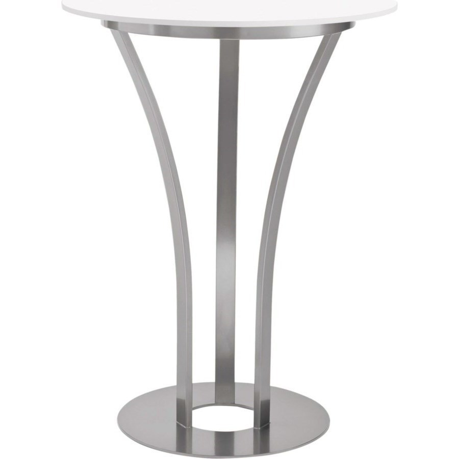 Customizable Dalia Counter Height Table with Round Glass Top