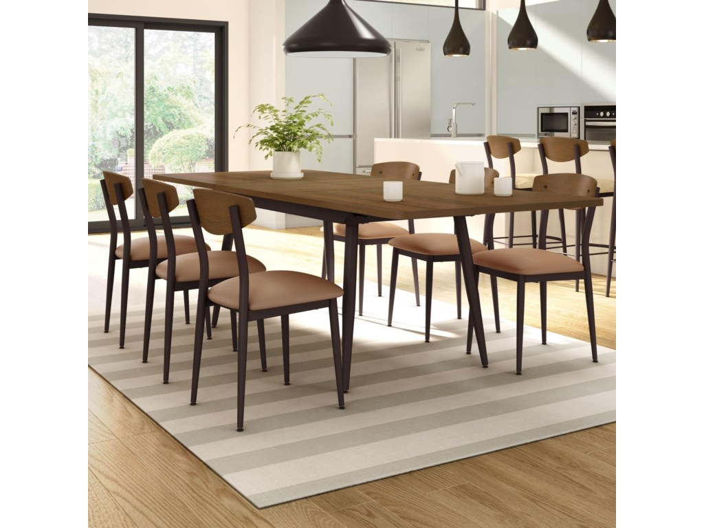 Amisco Nordic7-Piece Richview Table Set