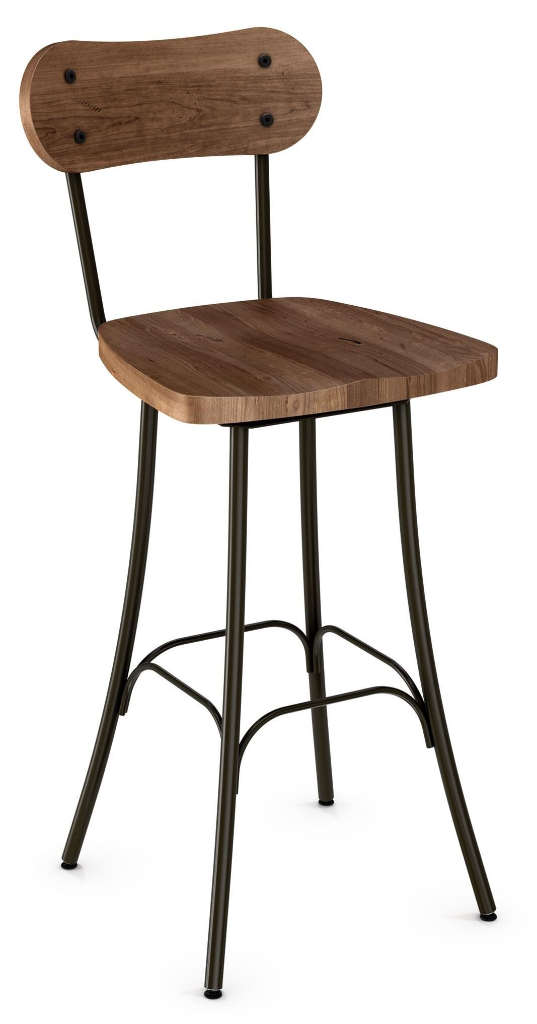 Amisco Stools 26 Quot Bean Counter Stool With Swivel Seat
