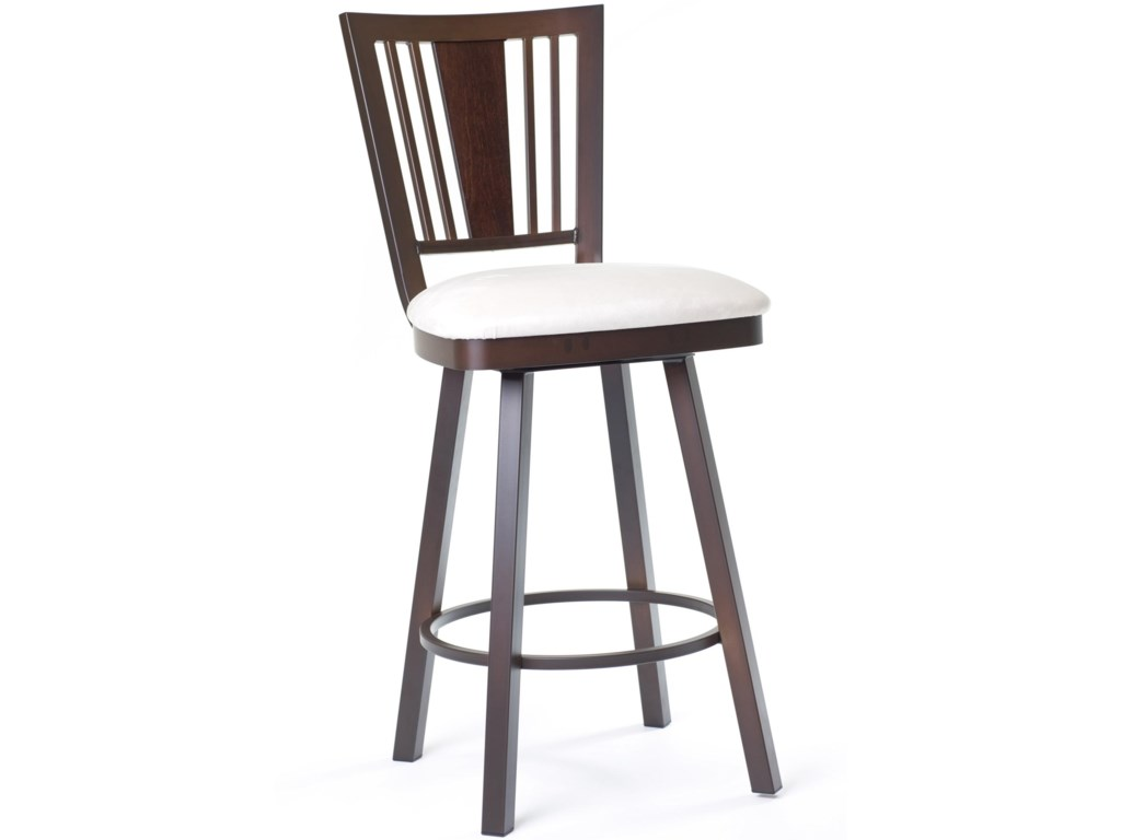 Amisco StoolsMadison Counter Height Swivel Stool