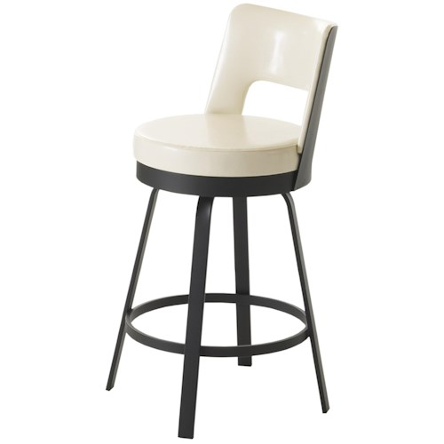 Amisco Stools Brock Counter Height Stool