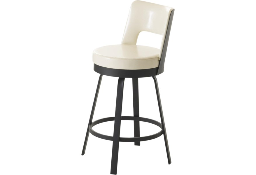 Remarkable Urban Customizable 26 Brock Swivel Counter Stool By Amisco At Dunk Bright Furniture Unemploymentrelief Wooden Chair Designs For Living Room Unemploymentrelieforg