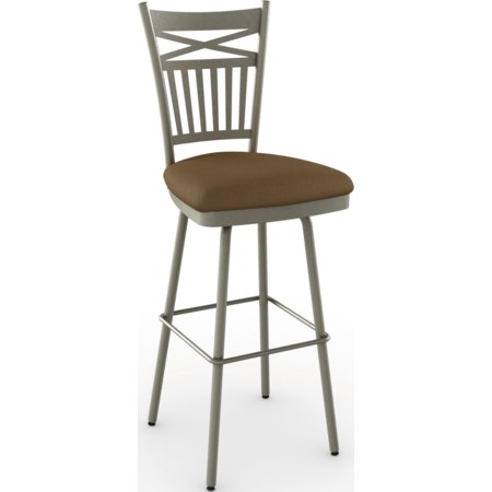 "30"" Garden Swivel Bar Stool"