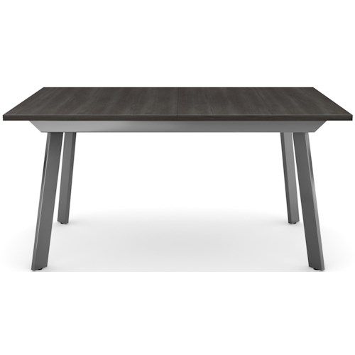 Amisco Customizable Dining Nexus Expandable Dining Table with Metal Legs