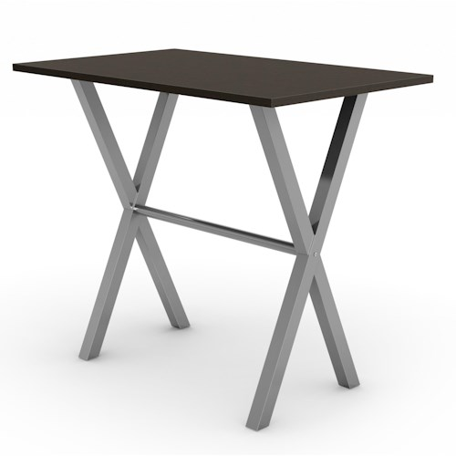 Amisco Customizable Dining Alex Bar Height Table