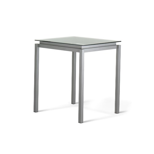 Amisco Customizable Dining Cameron Contemporary Bar Height Table