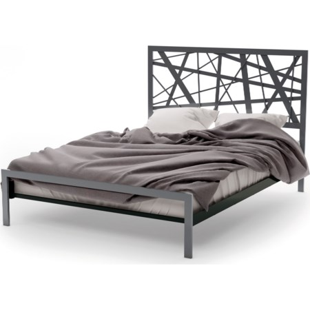 Queen Attraction Regular Footboard Bed