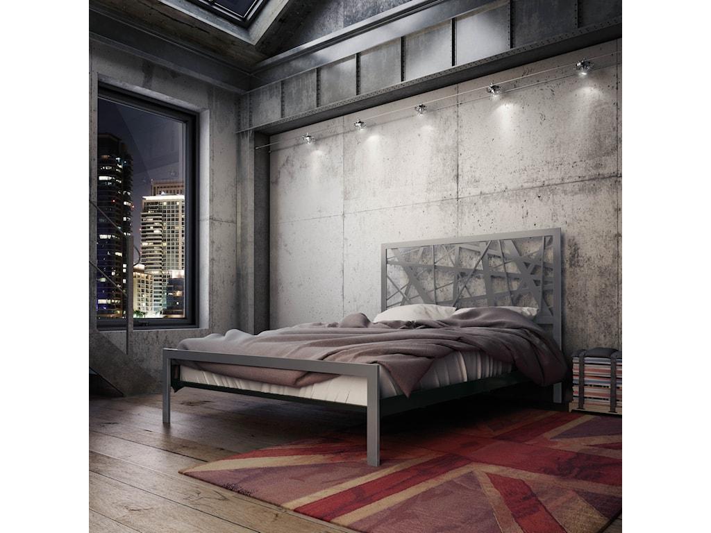 Amisco UrbanQueen Attraction Regular Footboard Bed