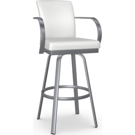 Customizable Lance Swivel Bar Stool