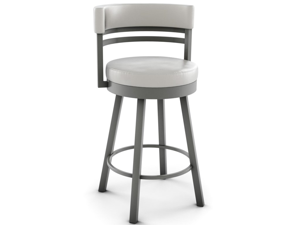 Amisco Urban 26 Counter Height Ronny Swivel Stool Superstore