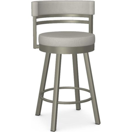 Customizable Ronny Swivel Counter Stool