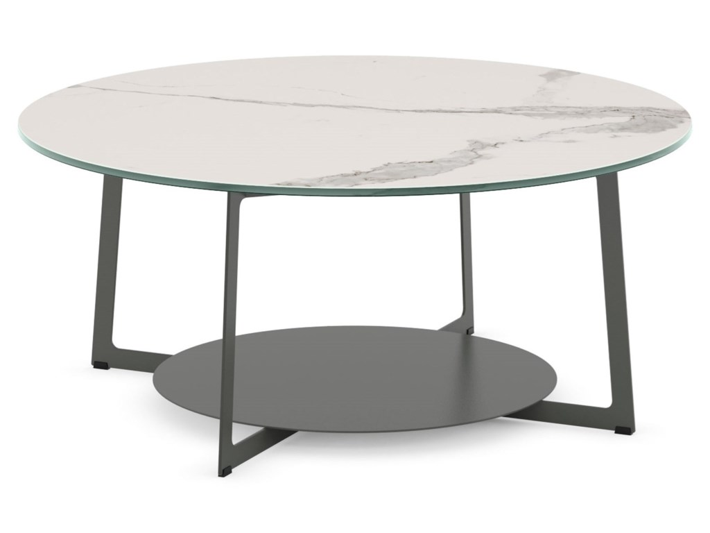 Amisco UrbanRound Malloy Coffee Table
