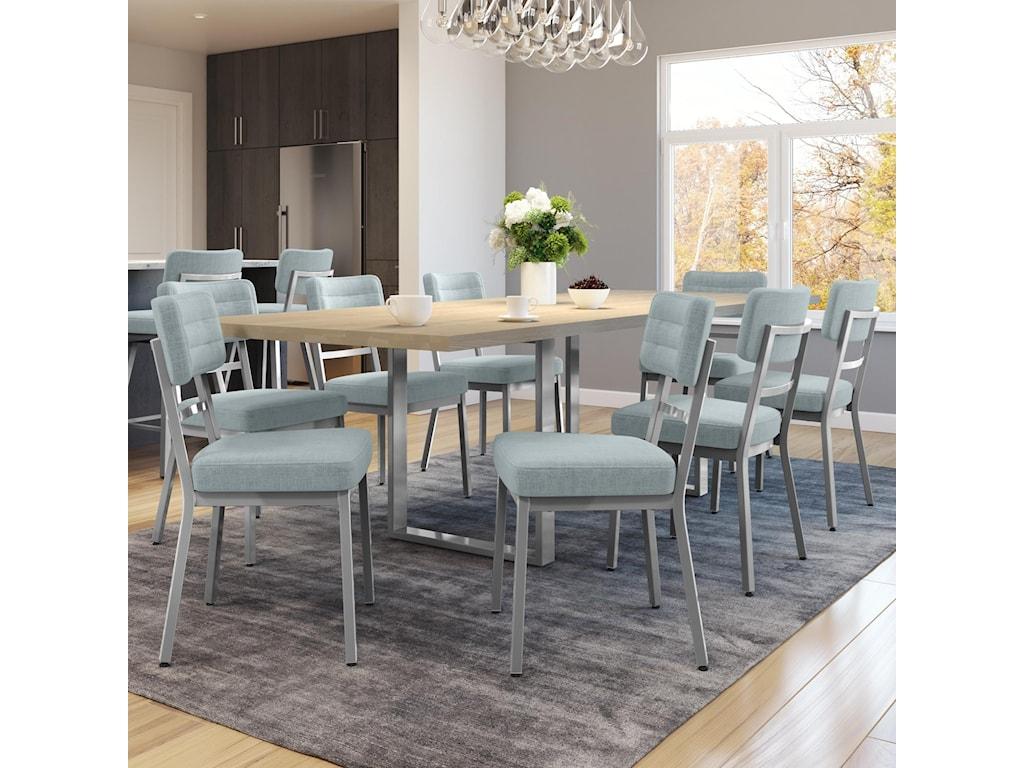 Amisco Urban9-Piece Burton Table Set
