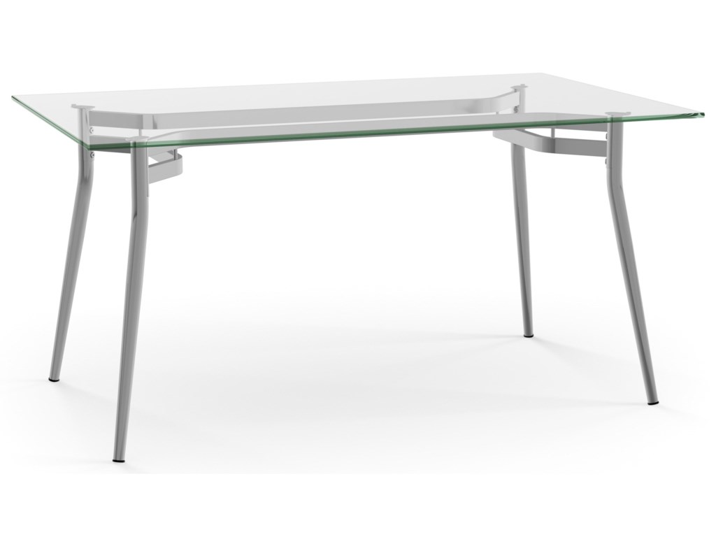 Amisco UrbanAlys Table with Glass Top