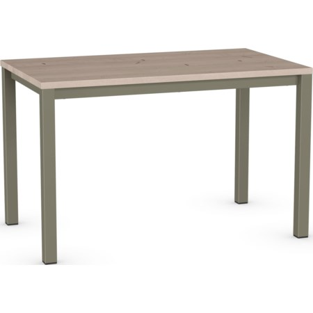 Counter Harrison Pub Table with Wood Top