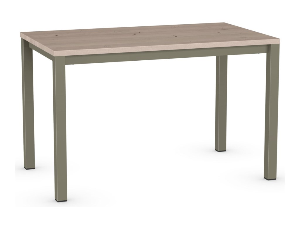 Amisco UrbanHarrison Table with Wood Top