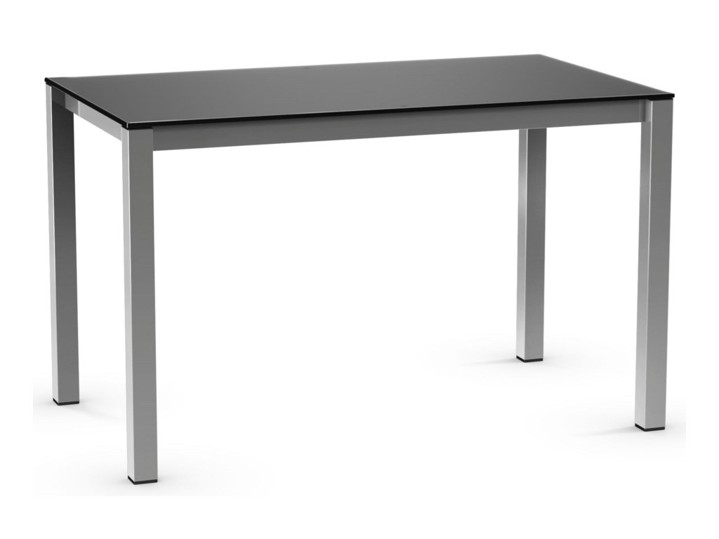 Amisco UrbanHarrison Table with Glass Top