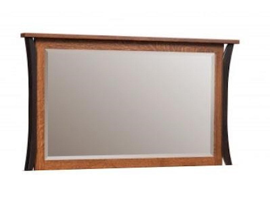 Amish Furniture AlleghenyAmish Dresser Mirror