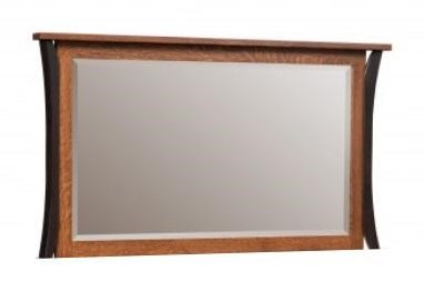 Amish Furniture AlleghenyDresser Mirror