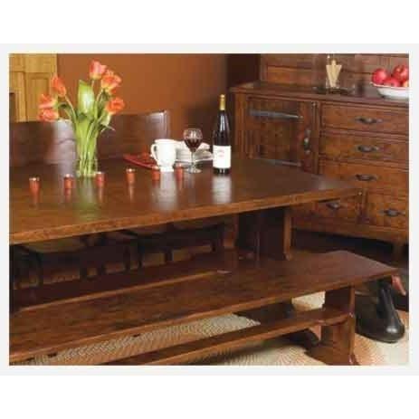 Morris Home AmericanaArm Chair - Wood Seat