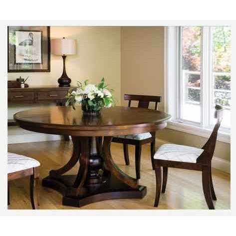 Amish Impressions by Fusion Designs ArabellaSide Chair - Wood Seat