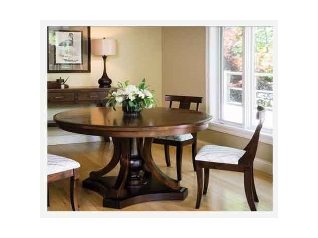 Morris Home ArabellaRound Pedestal Table