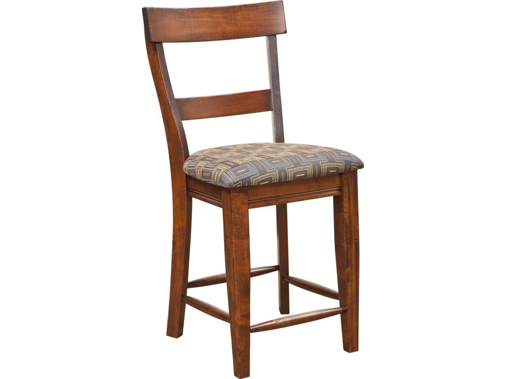 Amish Impressions by Fusion Designs Bar ChairsLewiston Bar Chair