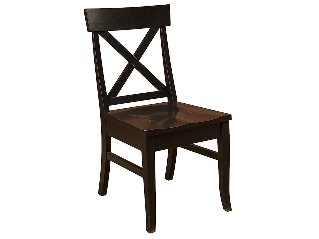 Amish Impressions by Fusion Designs Bar ChairsRichmond Bar Chair