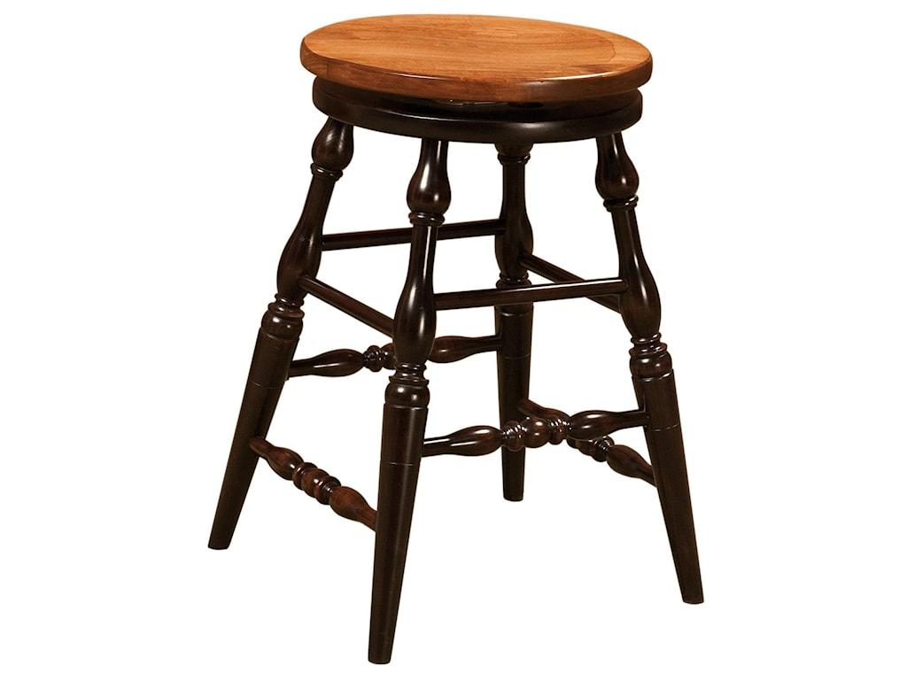 Amish Impressions by Fusion Designs Bar ChairsSmith Bar Chair