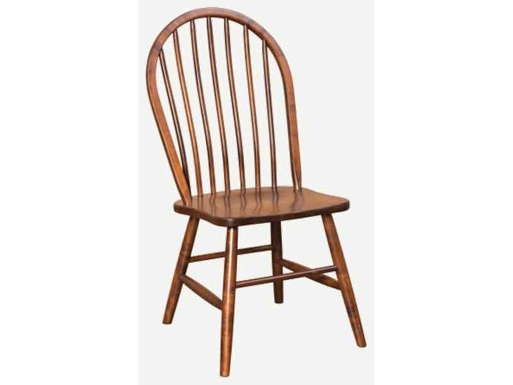 Amish Impressions by Fusion Designs BridgeportCustomizable Side Chair - Wood Seat