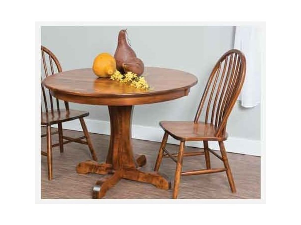 Amish Impressions by Fusion Designs BridgeportCustomizable Solid Wood Table