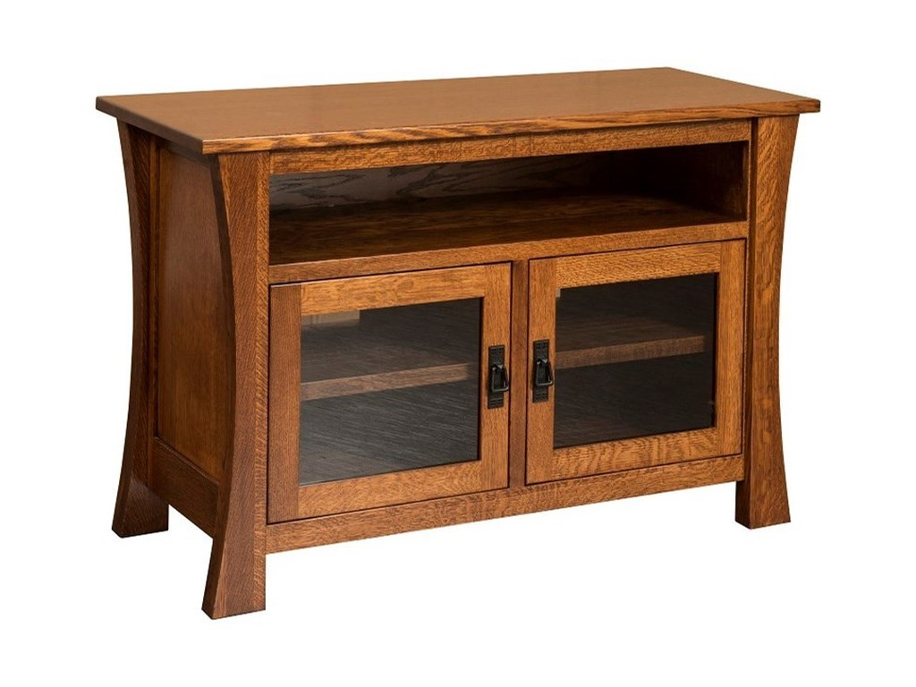 Amish Impressions by Fusion Designs BrighamBrigham Small TV Cabinet