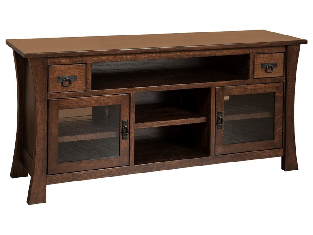 Amish Impressions by Fusion Designs BrighamBrigham Large TV Cabinet