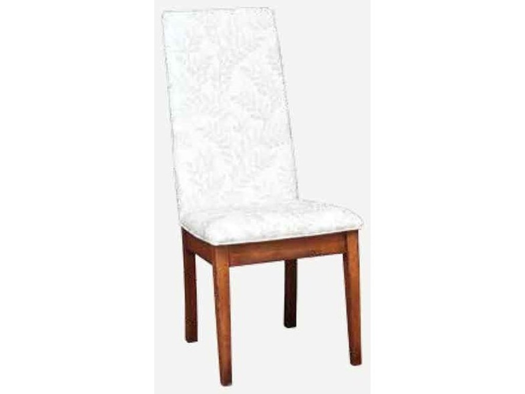 Amish Impressions by Fusion Designs BungalowParson Side Chair - Fabric Seat