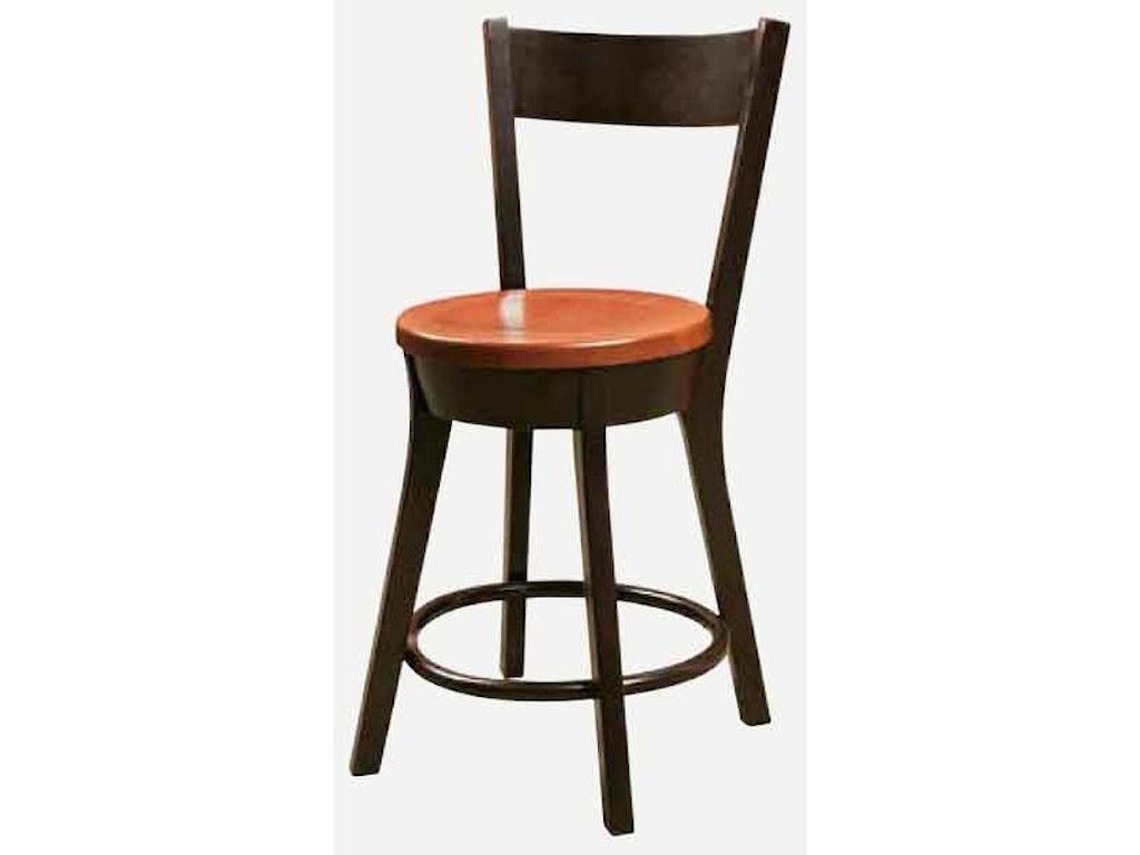 Morris Home Cape CodStationary Bar Chair