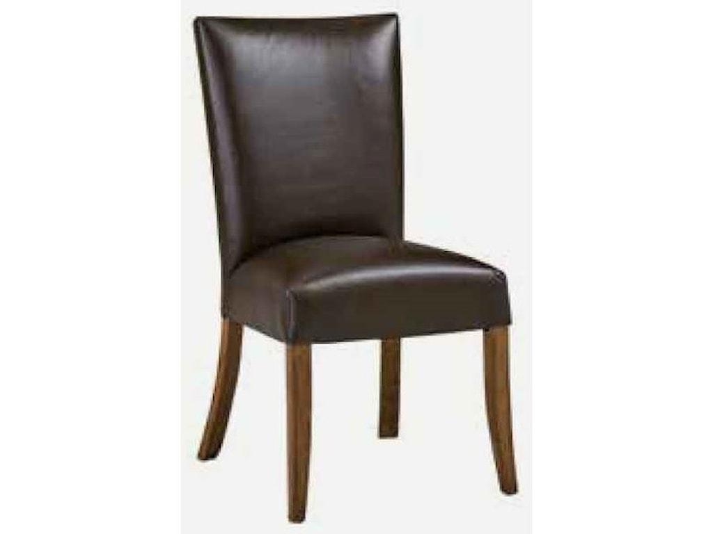Morris Home CaspianSide Chair - Leather