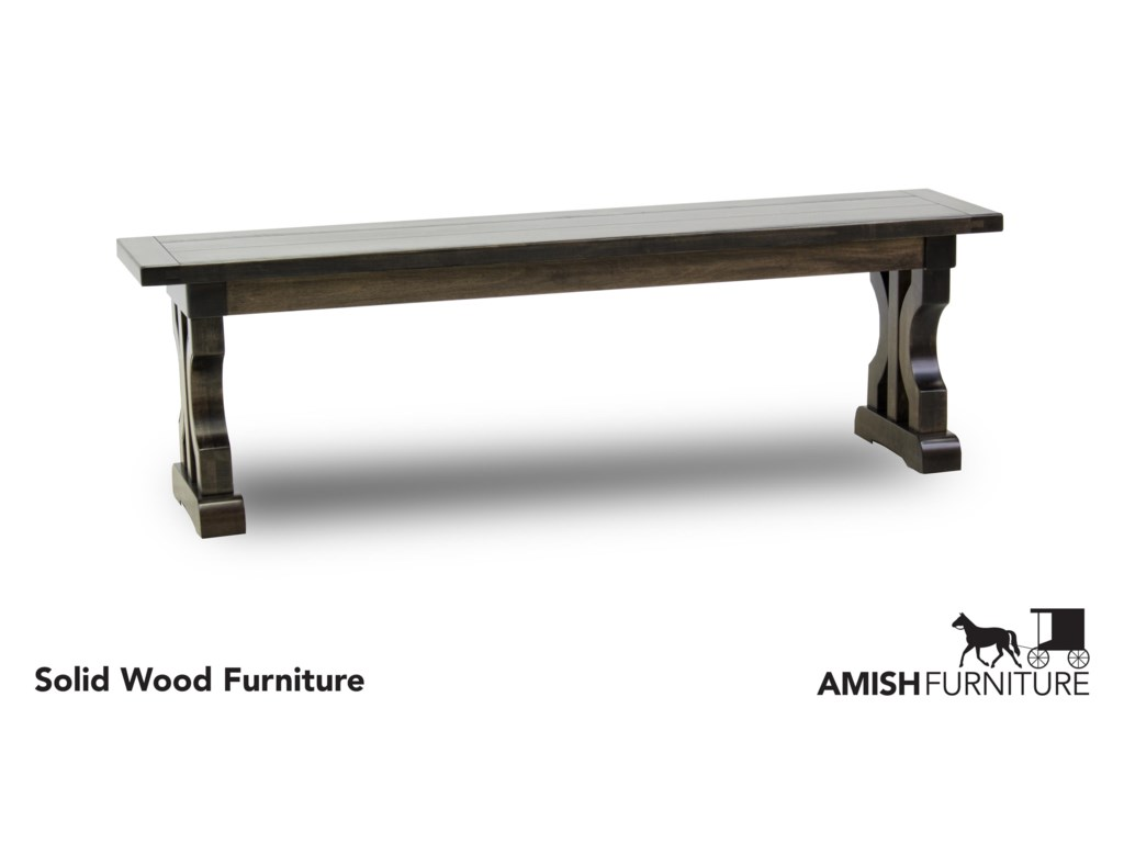 Amish Impressions by Fusion Designs CaspianDining Bench
