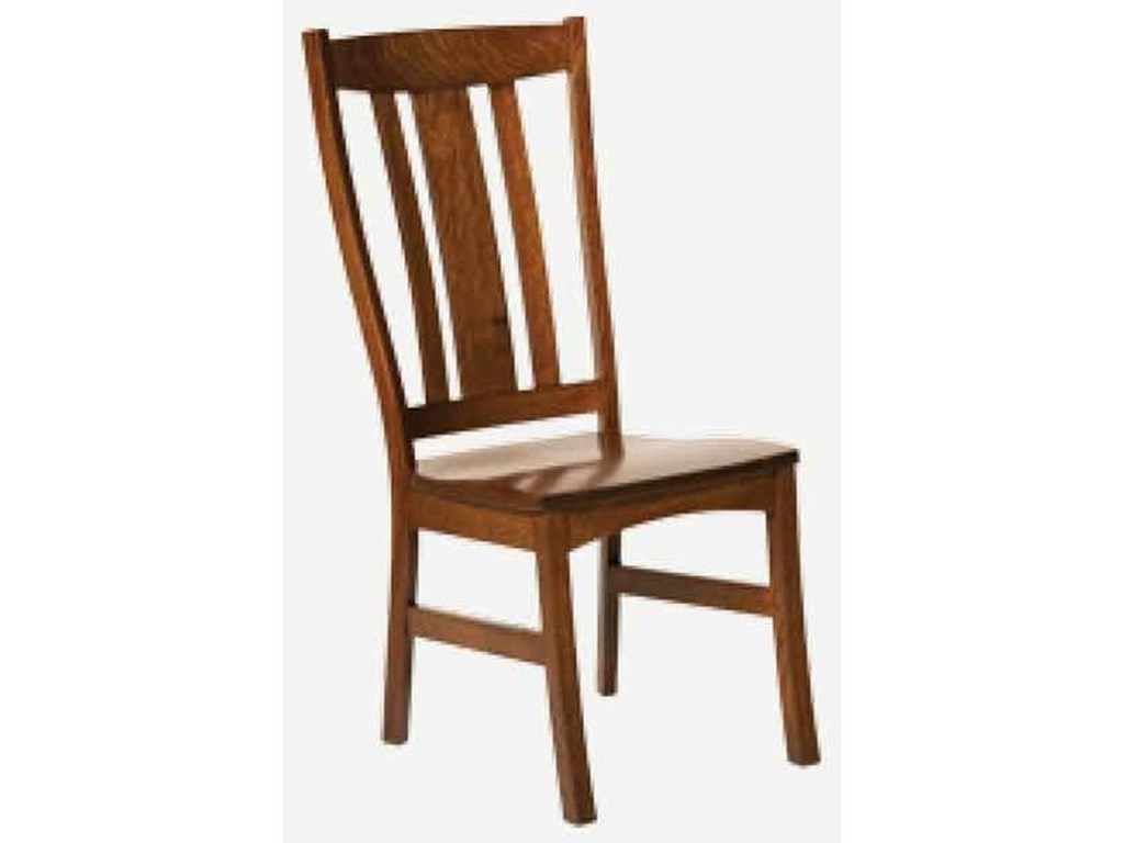 Morris Home CastlebrookSide Chair - Fabric Seat