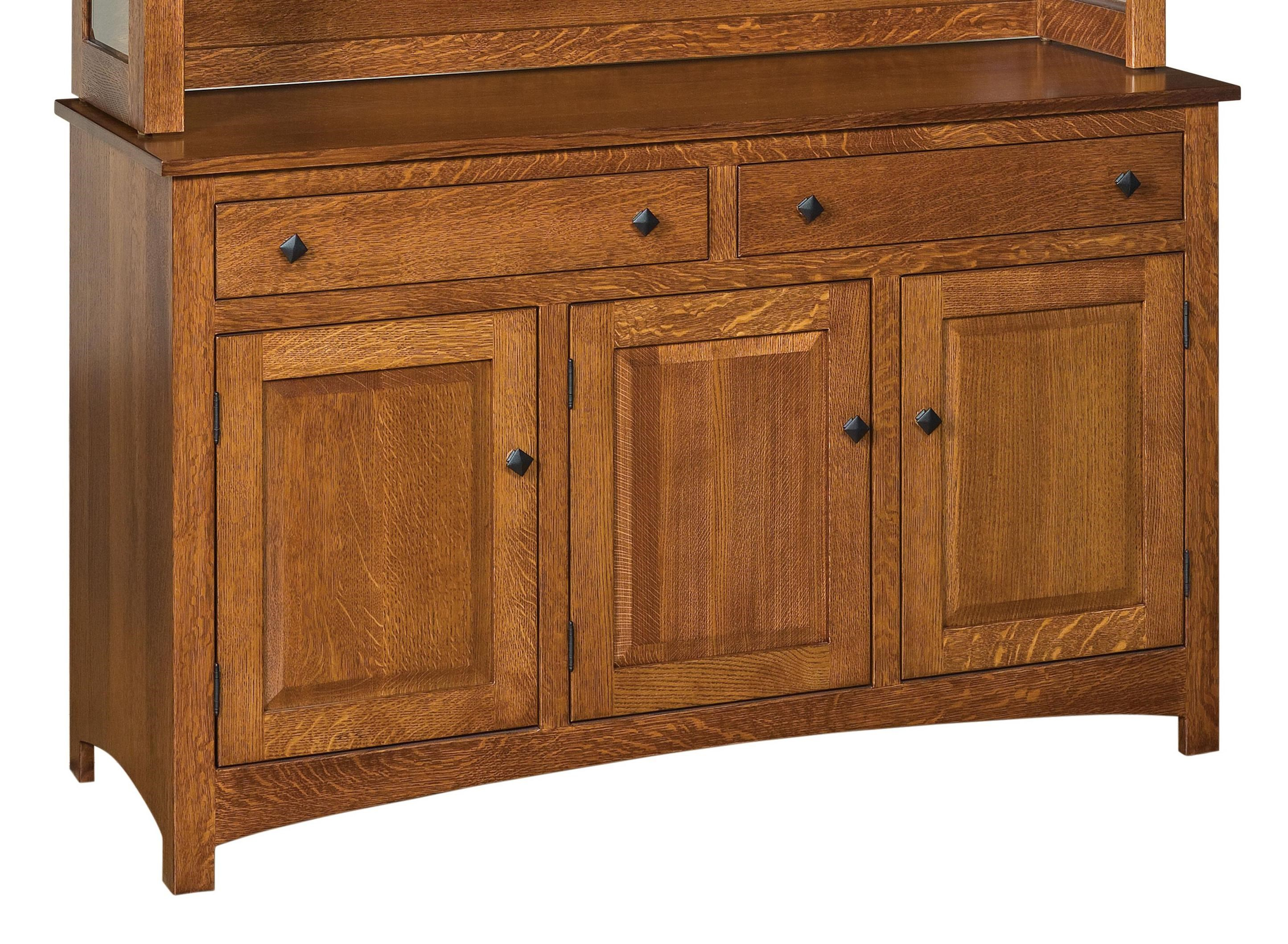 Indiana Amish Franklin Dining Buffet with 2 Drawers and 3 Doors & Indiana Amish Franklin Dining Buffet with 2 Drawers and 3 Doors ...