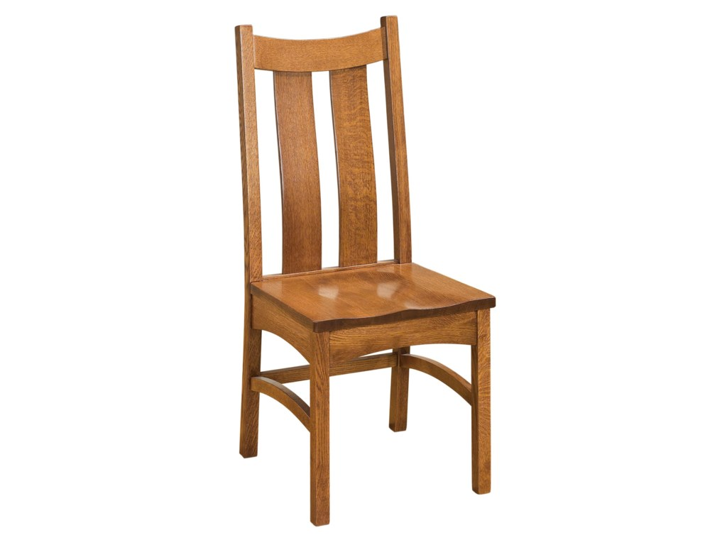 Indiana Amish Franklin Amish Side Chair Walker S Furniture