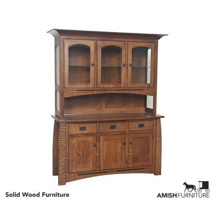 Exceptionnel Amish Impressions By Fusion Designs Hayworth Dining Hutch