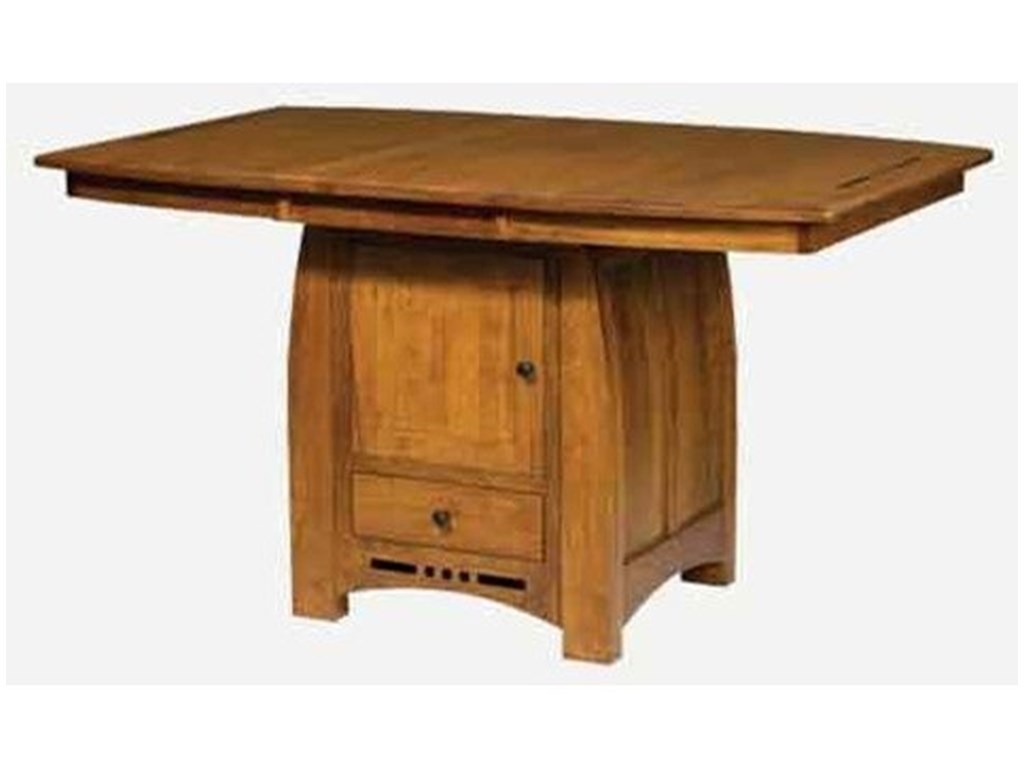 Amish Impressions by Fusion Designs HayworthTable with Butterfly Leaf