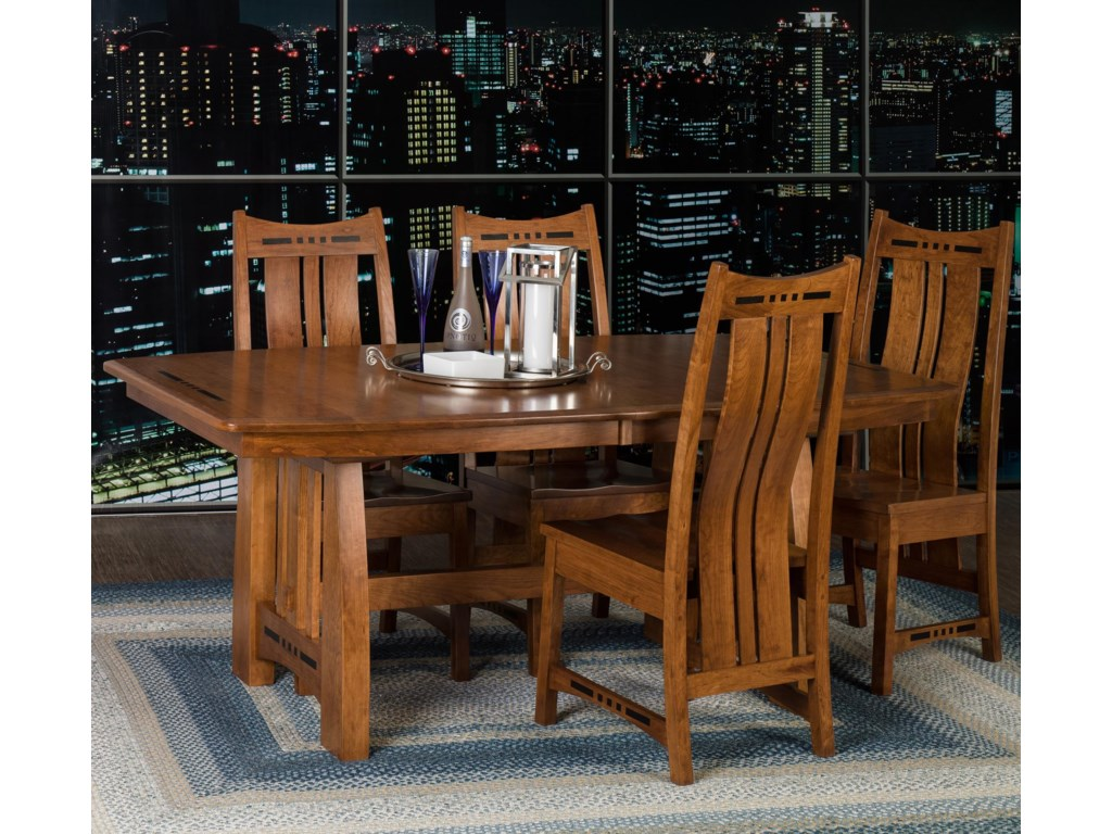 Amish Impressions by Fusion Designs Hayworth5 Piece Dining Set