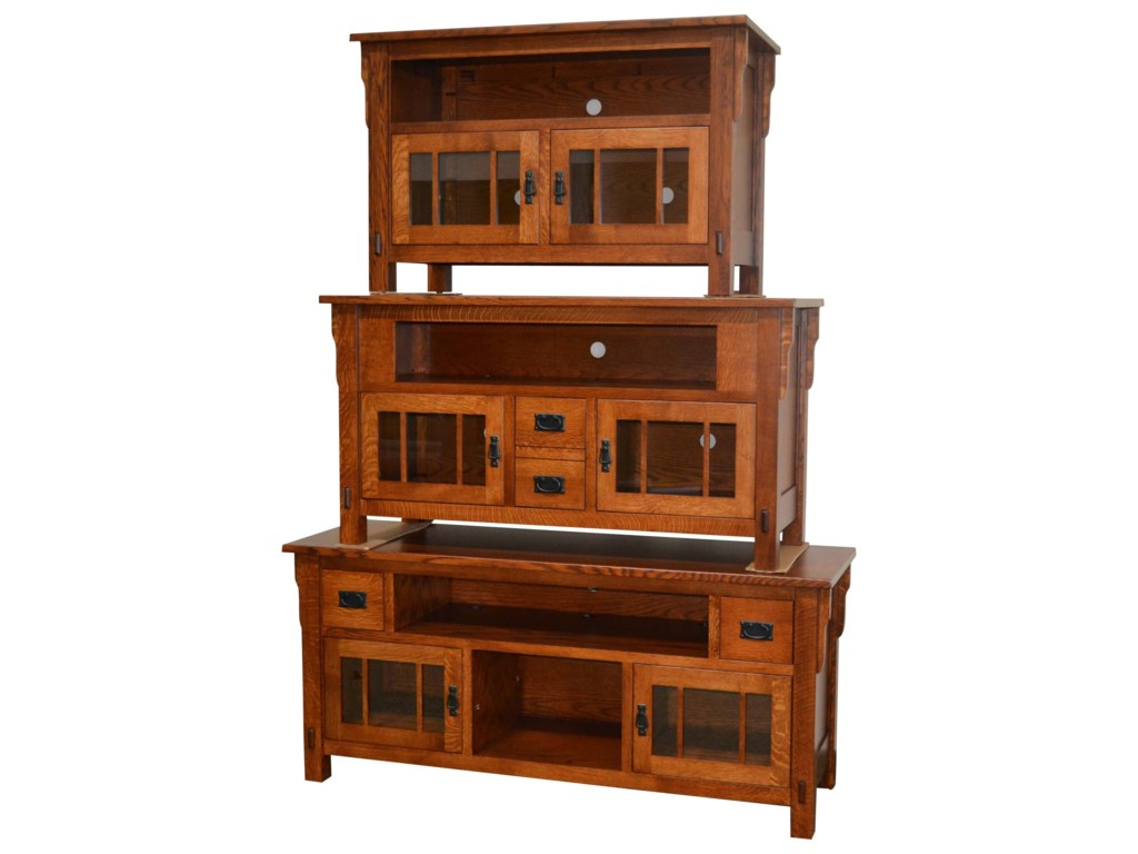 Amish Impressions by Fusion Designs MedallionMedallion Small TV Cabinet