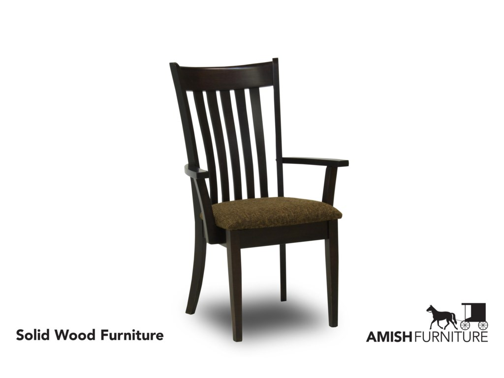 Amish Impressions by Fusion Designs SavannahDining Arm Chair