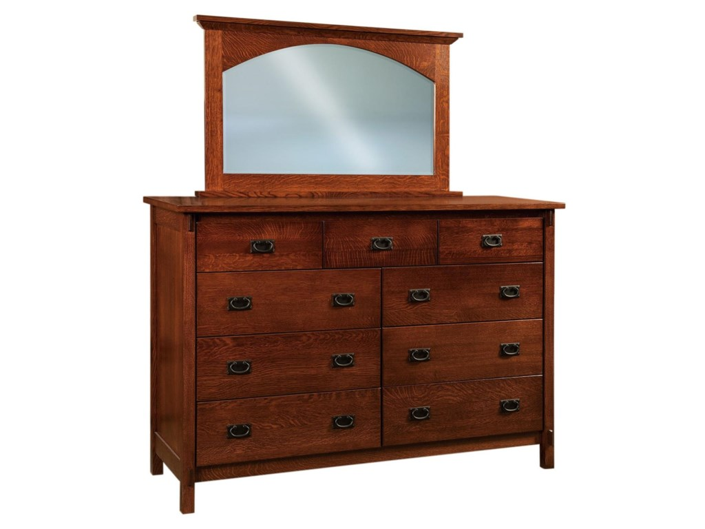 Shown with Dresser