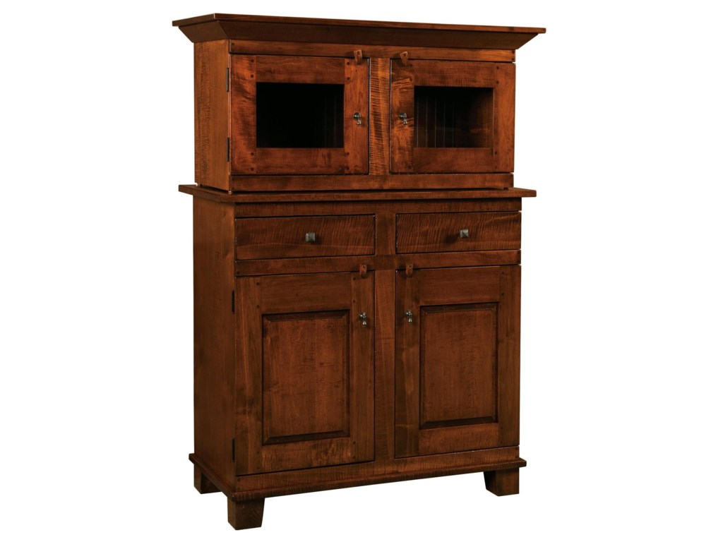 Wellington 2 Drawer Buffet With 2 Door Cabinet And Hutch Morris