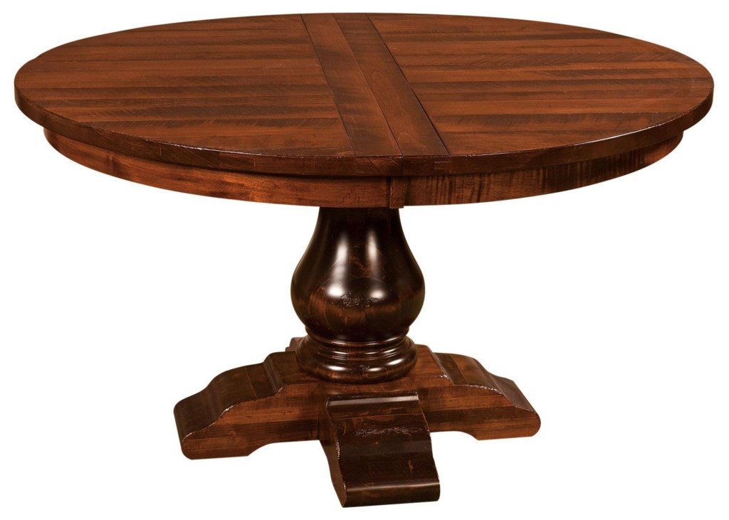 Wellington 60 Round Dining Pedestal Table Morris Home Kitchen Table