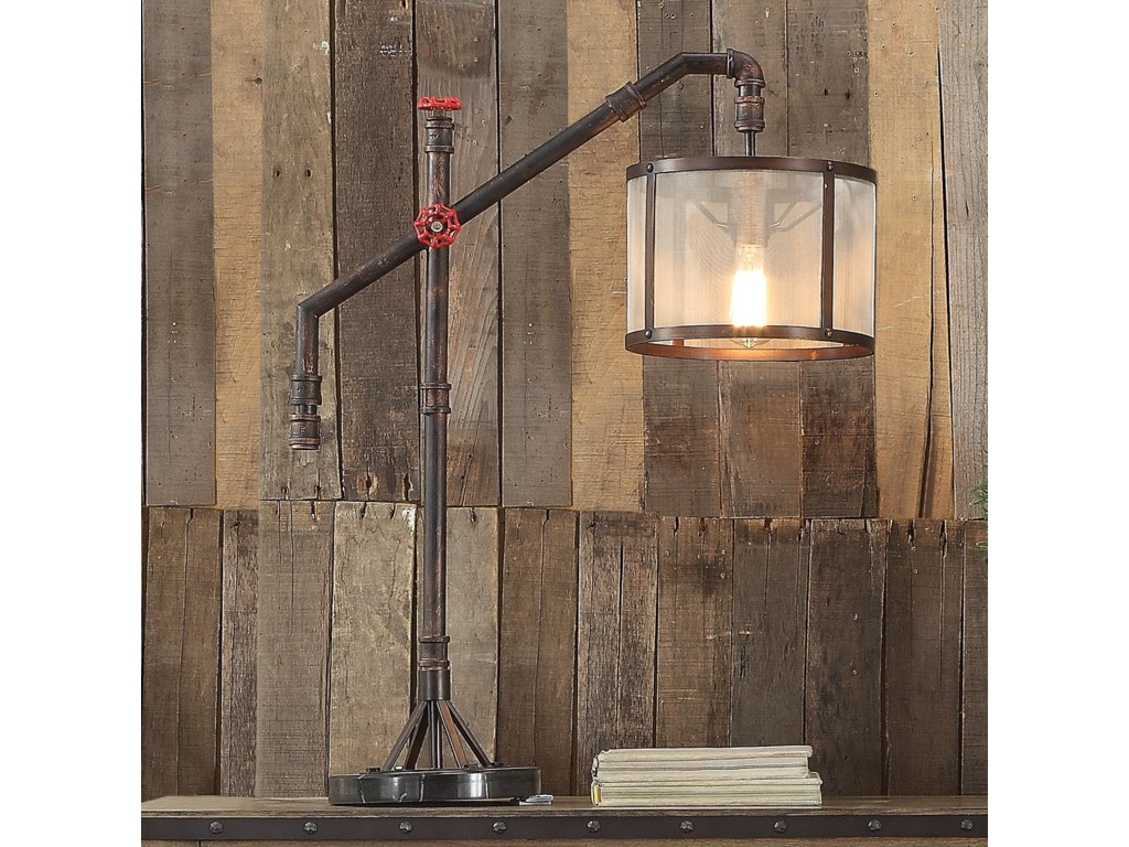 Anthony of California LampsBronze Table Lamp